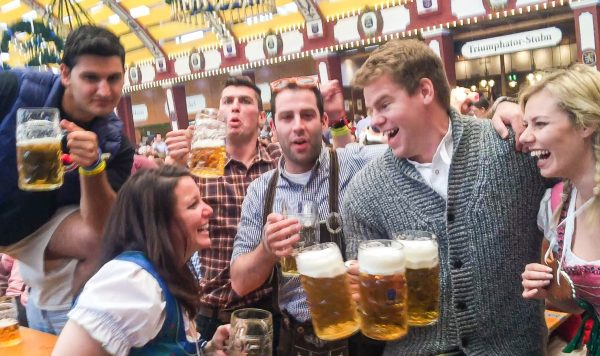 Just Your Average Day at Oktoberfest
